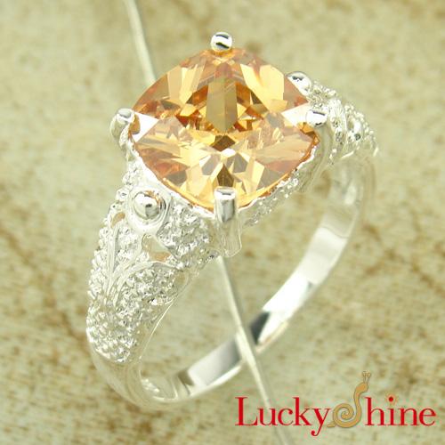 2012最畅销饰品戒指 锆石戒指 镀925银 OL风格 批发