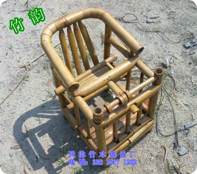 手工制作天然环保安全健康婴儿竹椅櫈/婴儿安全竹椅櫈