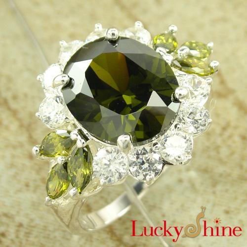深圳生产商 锆石戒指 时尚奢华款 戒指批发 个性戒指
