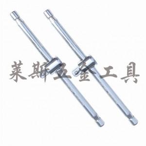 菲克苏_1_2_12.5mm_镜面套筒滑杆+延长杆两用_滑行块加力杆扳手