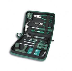 菲克苏_【美国世达】SATA-06003_11件基本维修组套工具套装