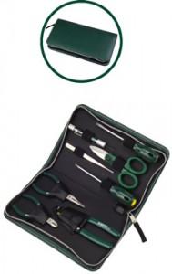 菲克苏_【美国世达工具】SATA-03750_8件套电子维修组套_电工工具