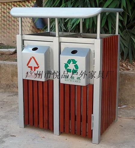 贵阳公园垃圾桶厂家 大连户外垃圾桶订做