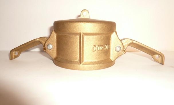 厂家直销黄铜防尘帽快速接头(帽子快速接头)
