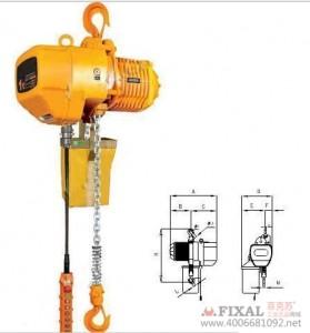 菲克苏_电动葫芦0.5吨_6m力士环链电动葫芦_起重葫芦_链条提升机_