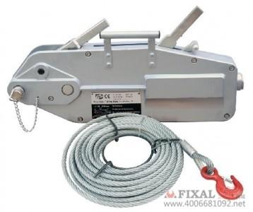 菲克苏_铝合金钢丝绳手扳葫芦3.2tx20m钢丝绳牵引器_3.2吨T20米