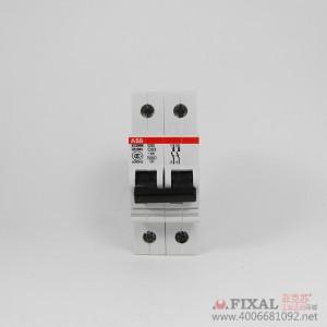 菲克苏_ABB空气开关小型断路器S262-C25_abb双极微型断路器2P25A