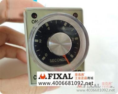 菲克苏_CKC_时间继电器_AH3-3_10S_220V_380V_小型延时继电器