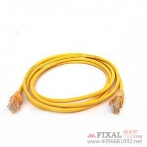 菲克苏_YYD电脑网线_成品纯铜网线1米_机器压制_adsl网线_自带水