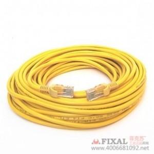 菲克苏_YYD电脑网线_成品纯铜网线20米_机器压制_adsl网线_自带水