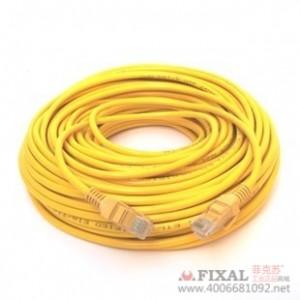菲克苏_YYD电脑网线_成品纯铜网线30米_机器压制_adsl网线_自带水