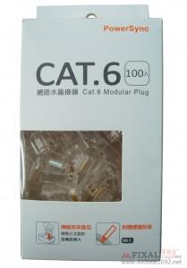 菲克苏_包尔星克_群加PRC6T-100高品质六类水晶头_RJ45网络水晶头