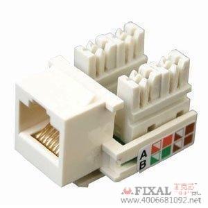 菲克苏_北讯通_超五类非屏蔽_RJ45模块_网络模块_保测试