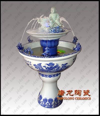 陶瓷喷泉丨空气加湿器丨开业礼品