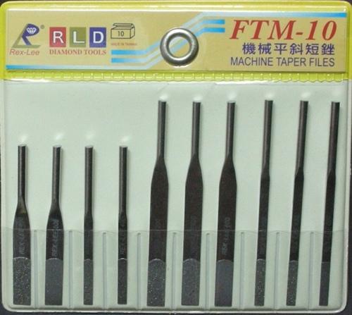 FTM-10精密机械用钻石平斜短锉