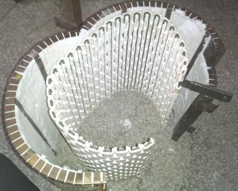 耐800度高温陶瓷发热圈