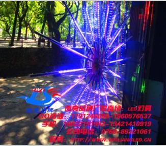 led流星雨 景观树上专用led挂件流星雨彩灯
