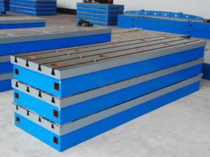 厂家直销铸铁焊接平板规格,铸铁研磨平台材质,铸铁检验平板加工