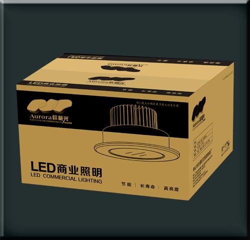 中山小榄瓦楞纸箱灯饰电器纸箱