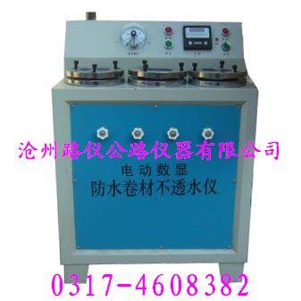 DTS-III型防水卷材不透水仪(河北路仪)