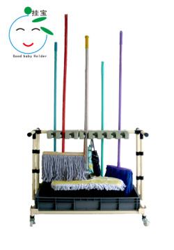 挂宝工具架,家用架,日用架,工具夹,拖布挂,拖布架
