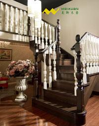 欧式实木楼梯之镇店之宝