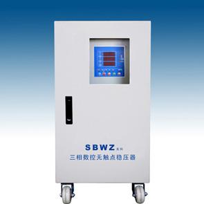 厂家直供中山龙力SBWZ-60KVA单三相数控无触点稳压器 高精度 保修三年(图)