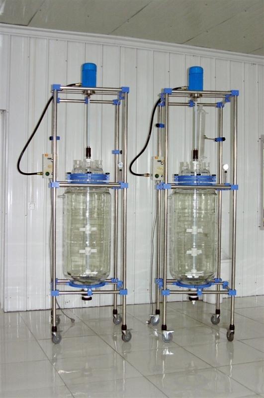 双层玻璃反应釜HEB-100L报价