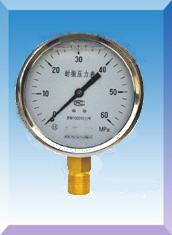 防震压力表型号,防震压力表生产厂家