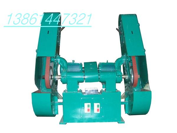 新SSMO1双头砂带机(抛光机,砂带磨床,无锡砂带机)