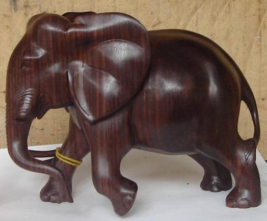 木雕大象,红木雕大象