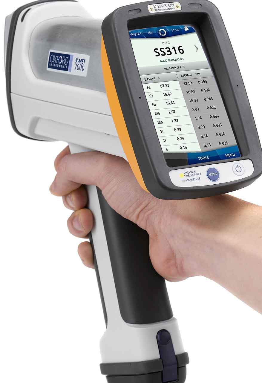 牛津手持式X射线荧光分析仪 - X-MET7000 eXpress