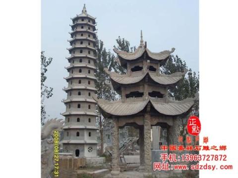 各种石塔,寺庙石佛塔