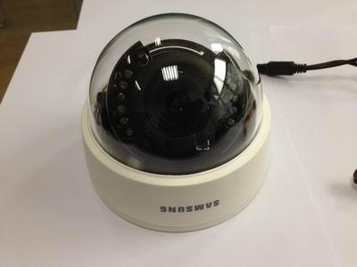 仿三星监控摄像机SCD-2080RP红外+变焦+广角半球