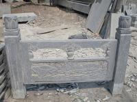 石栏板青石栏杆青石桥栏杆庭院栏杆柱栏杆浮雕