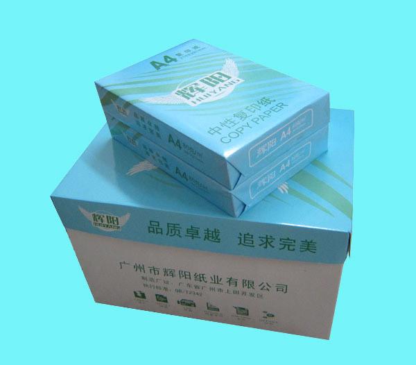 """""""辉阳""""办公用纸 静电复印纸 A4 70克80克 500张/包 批发"""
