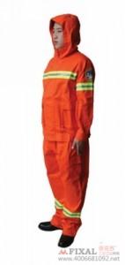 菲克苏_F-41消防员森林防护服_阻燃面料安全服_防水渗透防护服