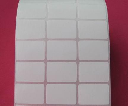 厂家现货直销30x20空白条码标签打印纸音响设备条码贴纸