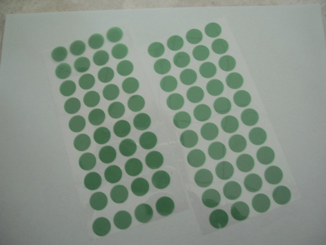 PET绿色胶带模切