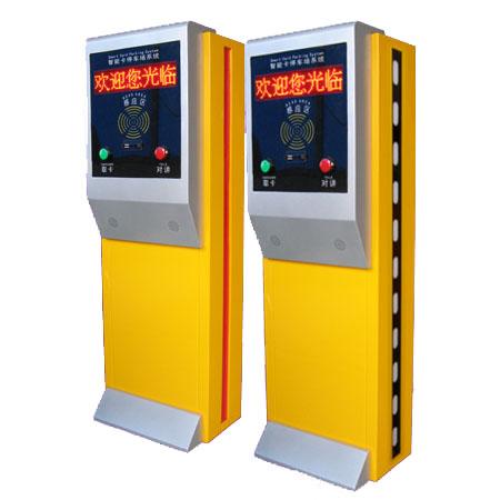 供应温州停车场票箱 台州停车场收费系统控制机 丽水出卡机票箱系统