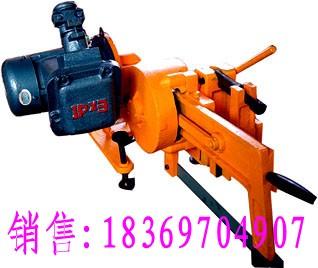KDJ型矿用防爆电动锯轨机