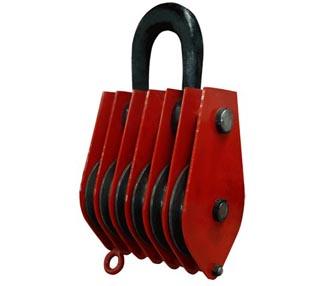 凌鹰起重滑车|铸铁材质起重滑轮组价格