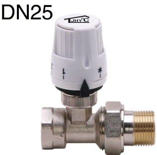 北京厂家直销:DN25散热器直通恒温控制阀