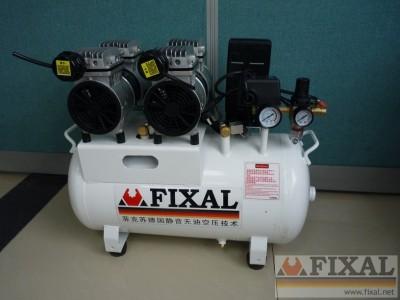菲克苏静音无油空压机,静音空压机,小型低噪音无声空压机FX 南
