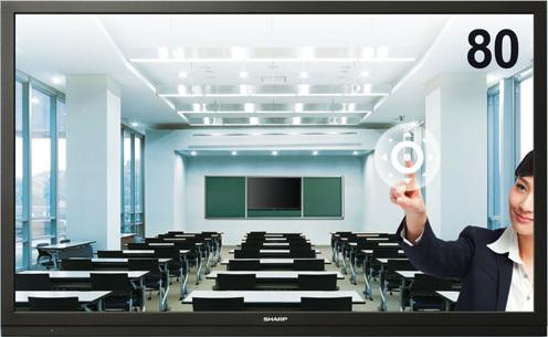 sharp/夏普LCD-80X561A LED触摸屏新品80寸超大电视机 商用家用类