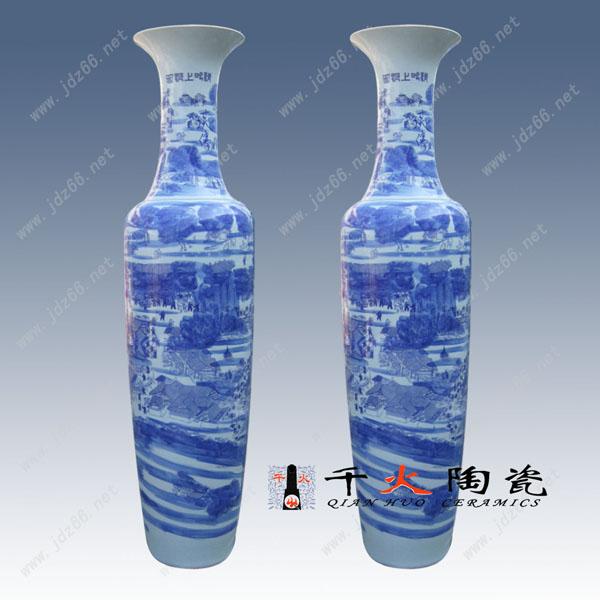 陶瓷大花瓶图片 景德镇陶瓷大花瓶生产