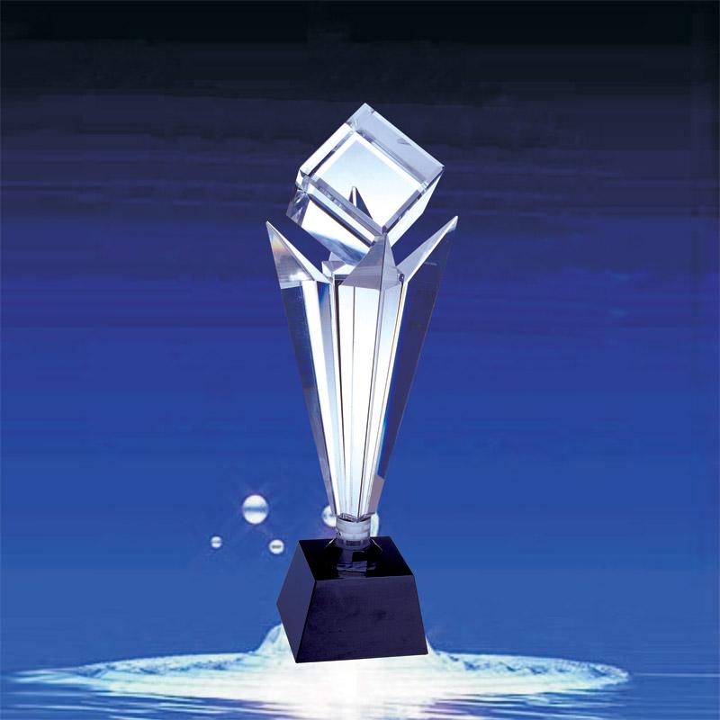 长治水晶奖杯款式 网页设计大赛奖杯中国人寿奖杯