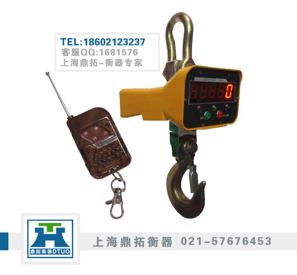 工矿专用2T直视吊磅秤厂家直销