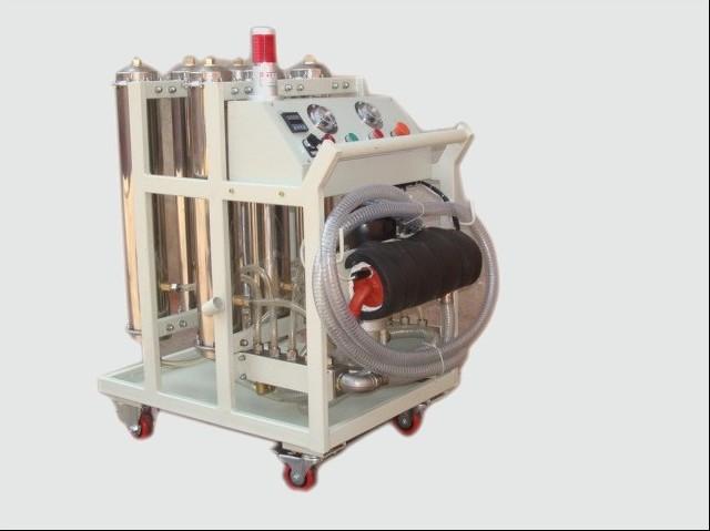 高粘度润滑油移动过滤装置