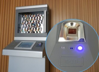 RFID技术—兰德华钥匙智能管理柜
